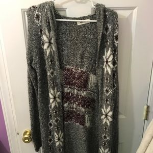 Abercrombie and Fitch long winter cardigan